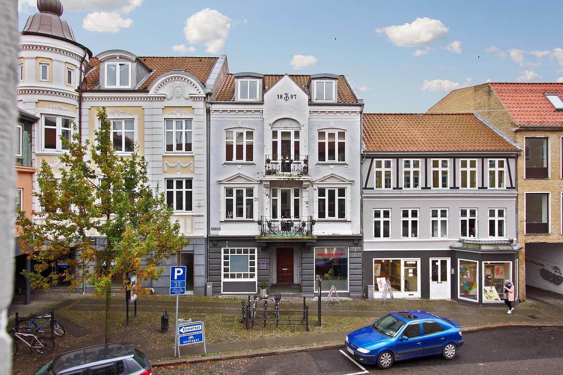 Boligudlejning på Slotsgade i Randers C - Ejendommen