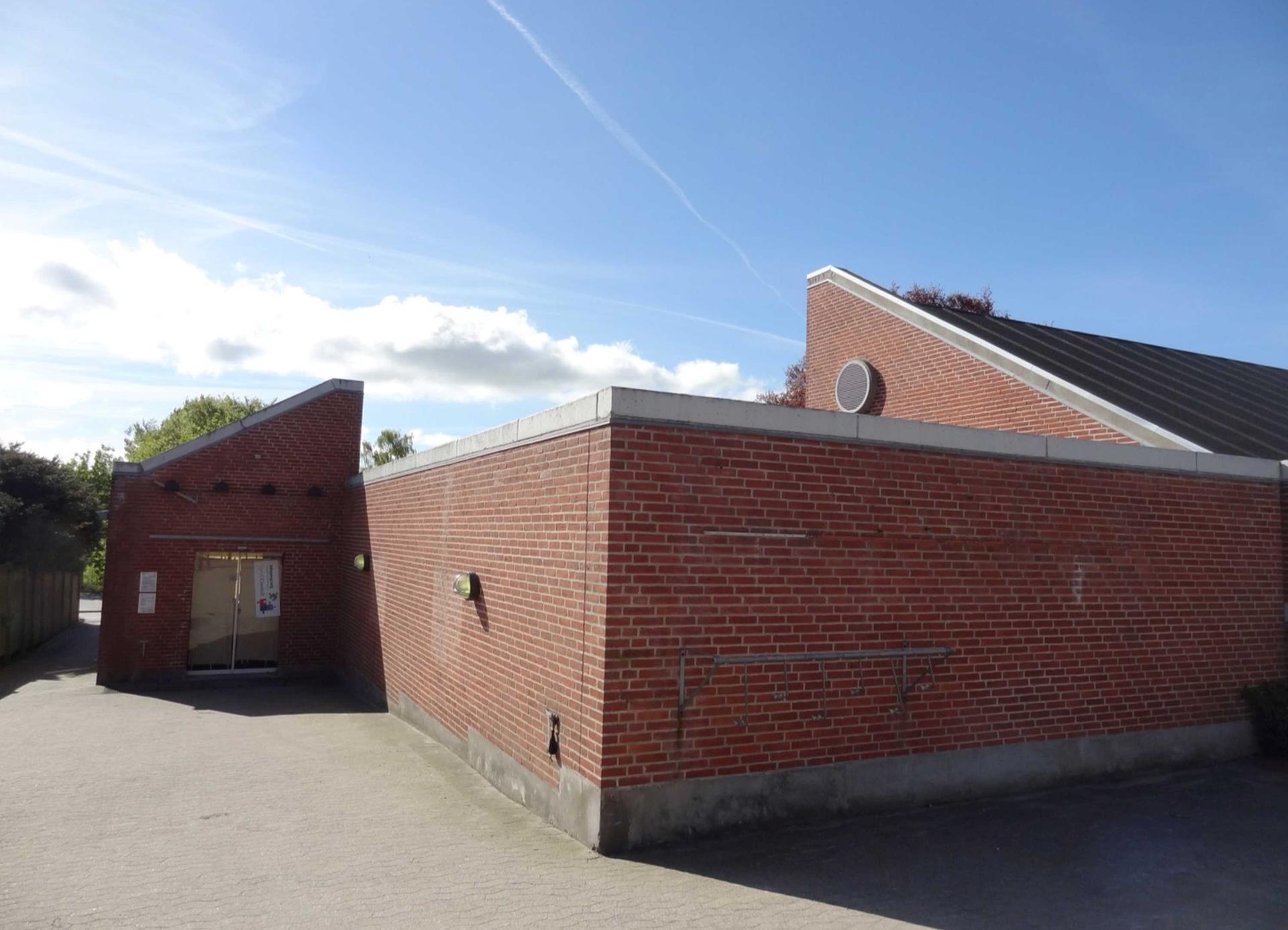 Detail på Udbyhøjvej i Randers NØ - Facade