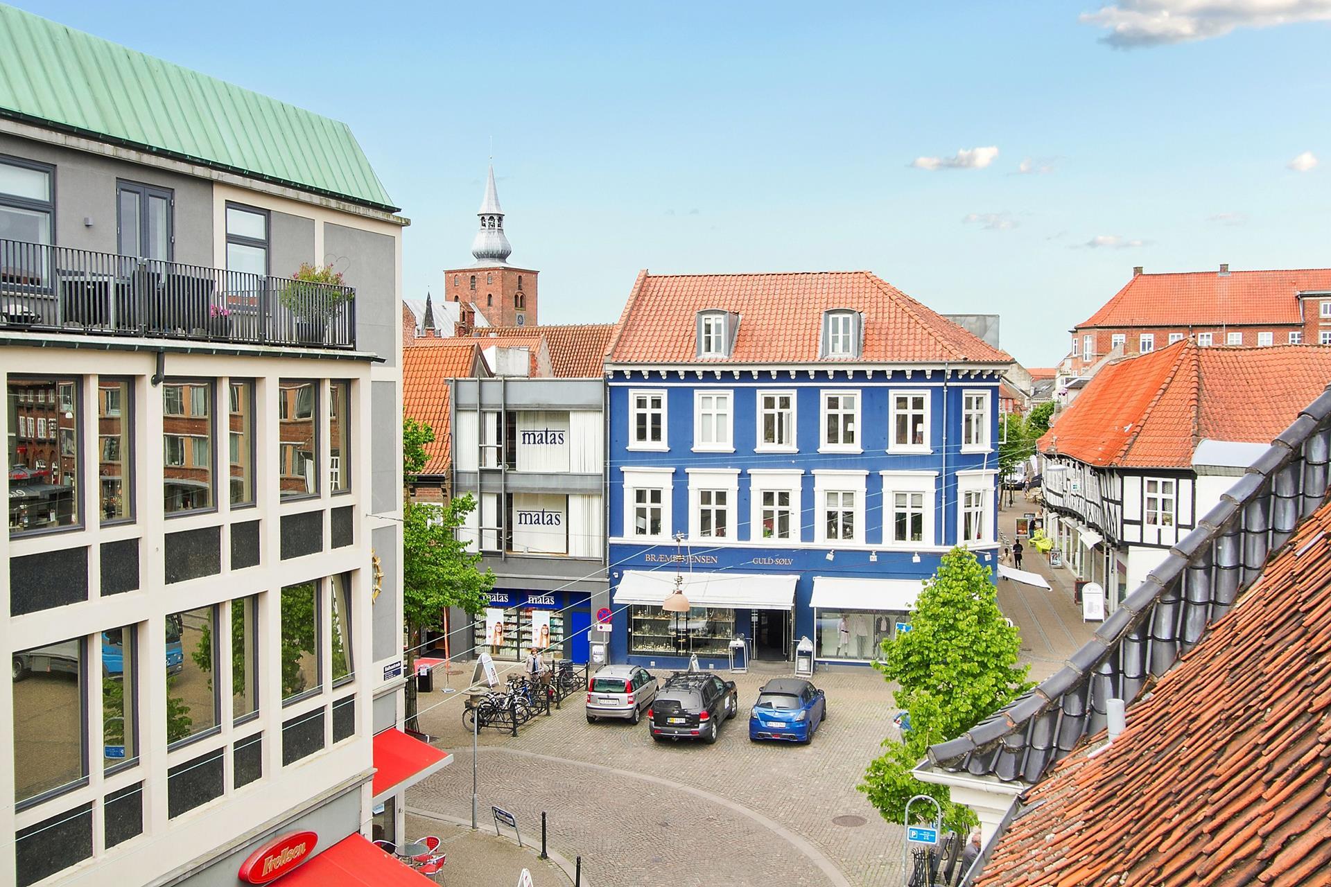 Bolig/erhverv på Rådhusstræde i Randers C - Udsigt