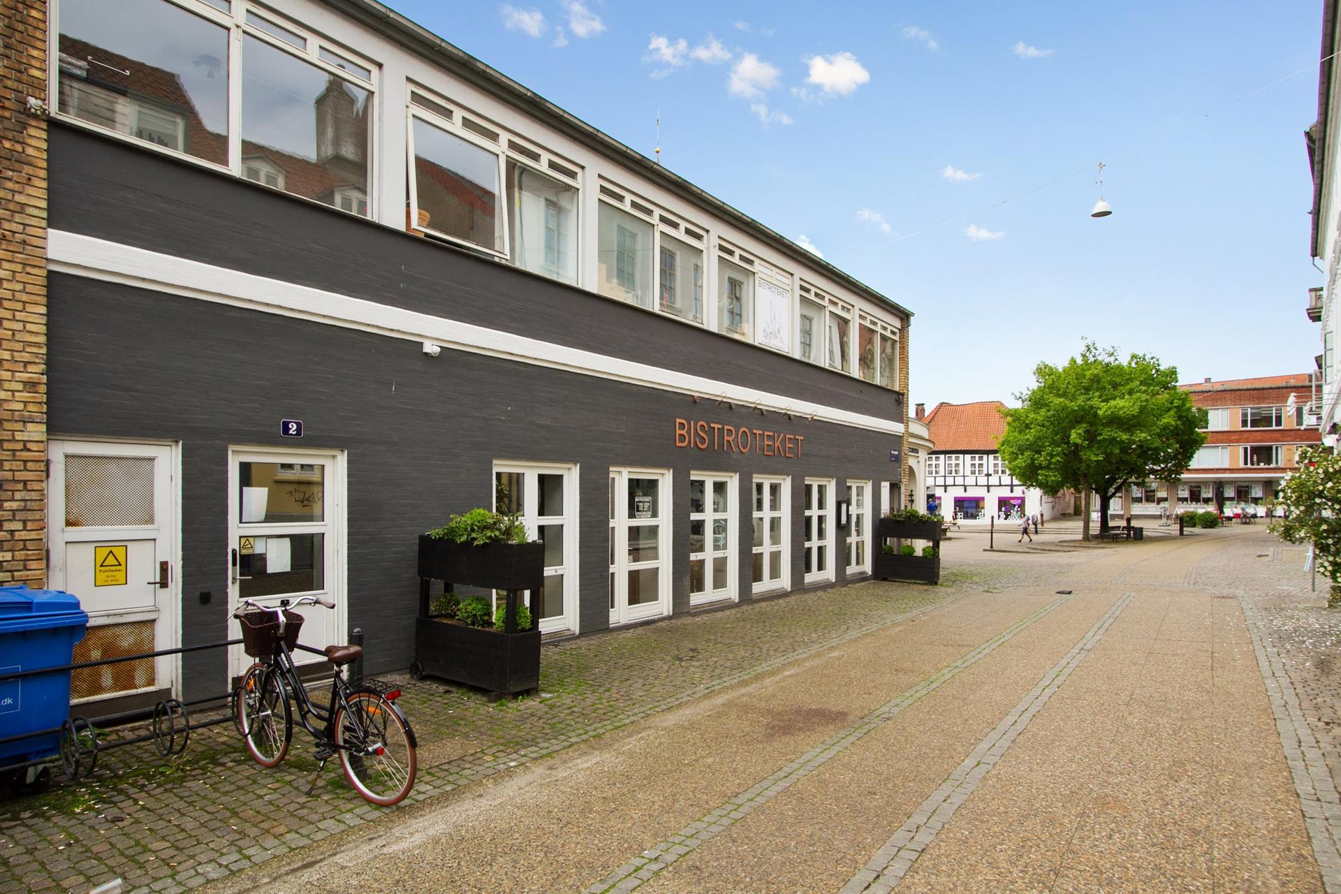 Bolig/erhverv på Rådhusstræde i Randers C - Facade