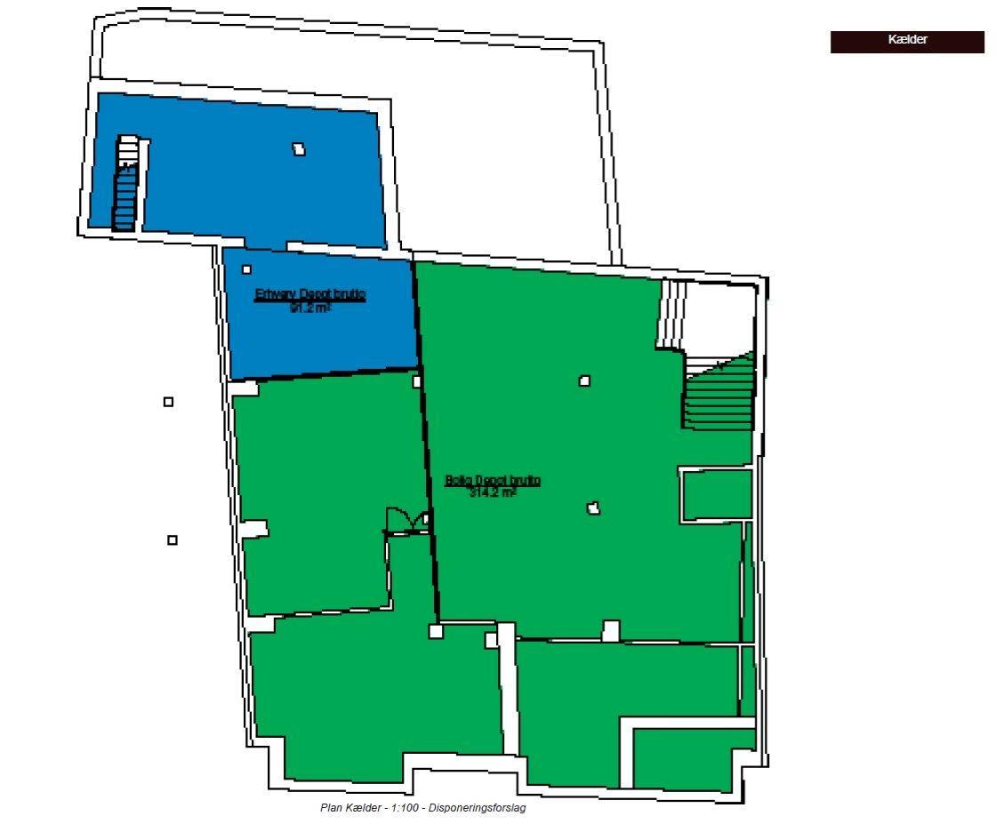 Bolig/erhverv på Torvegade i Randers C - Andet