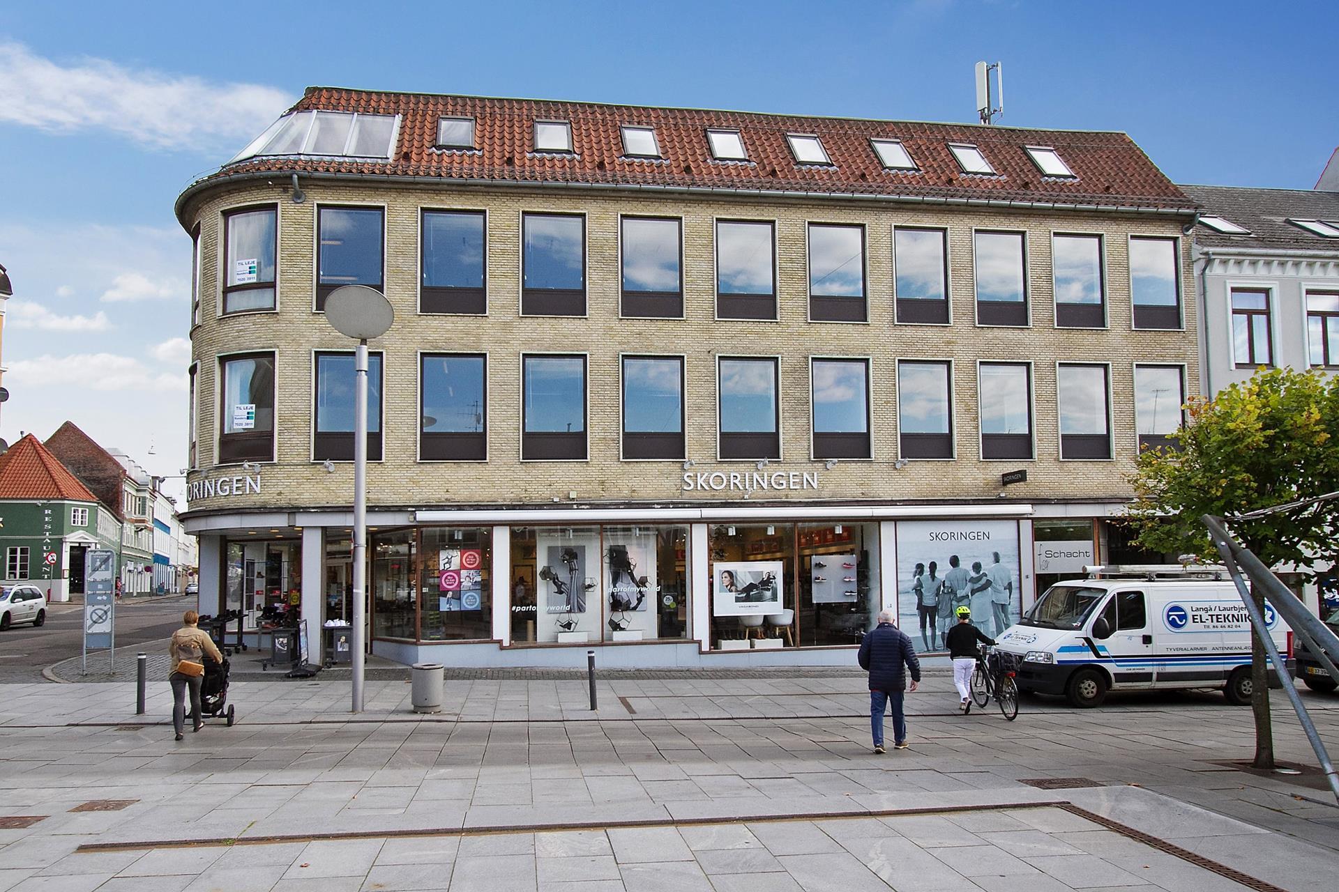 Bolig/erhverv på Østervold i Randers C - Ejendommen