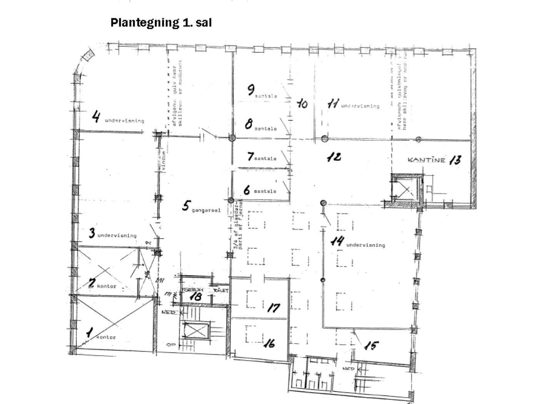 Bolig/erhverv på Østervold i Randers C - Plantegning