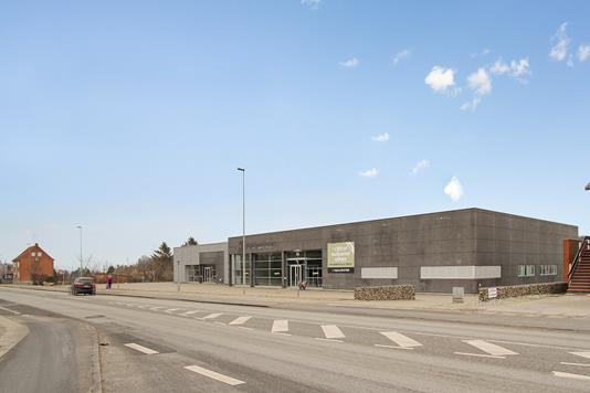 Detail på Århusvej i Randers SØ - Ejendommen