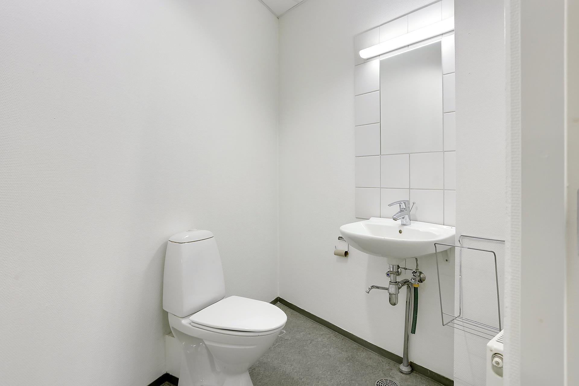 Detail på Ove Jensens Alle i Horsens - Toilet