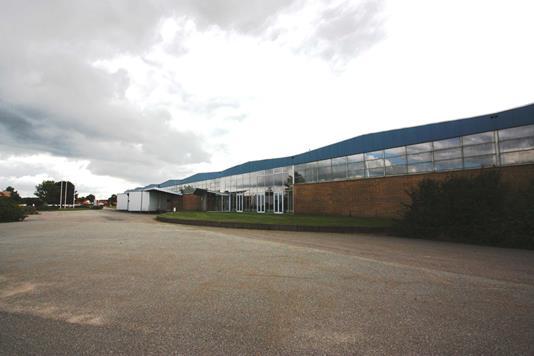 Produktion/lager på Vejlevej i Hedensted - Facade