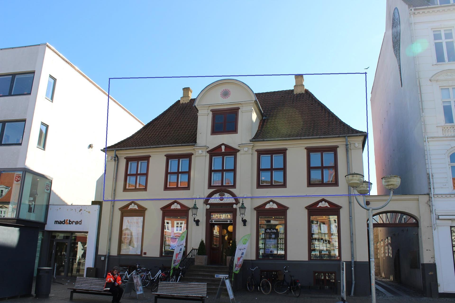 Bolig/erhverv på Søndergade i Horsens - Ejendommen