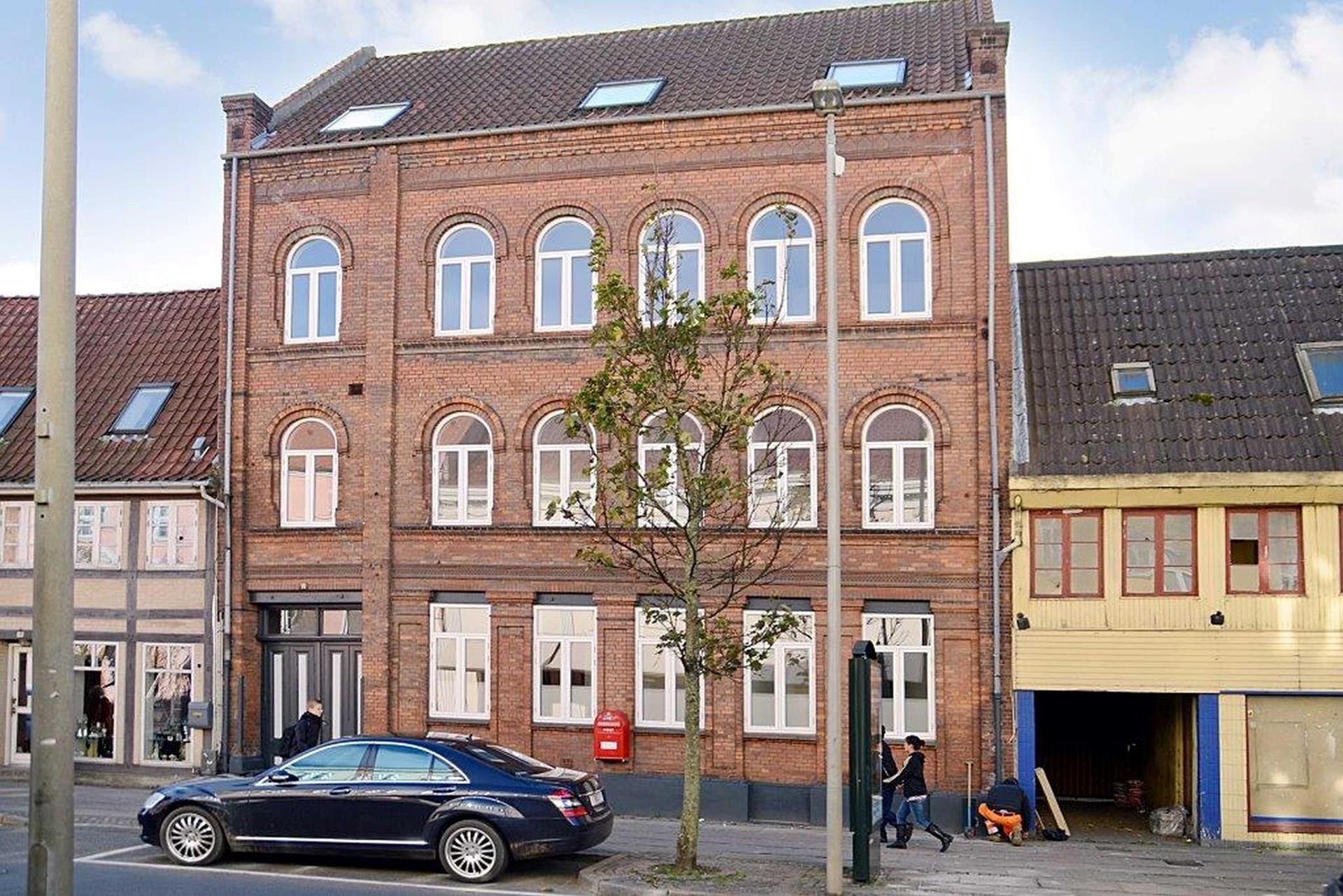 Boligudlejning på Nørregade i Horsens - Facade