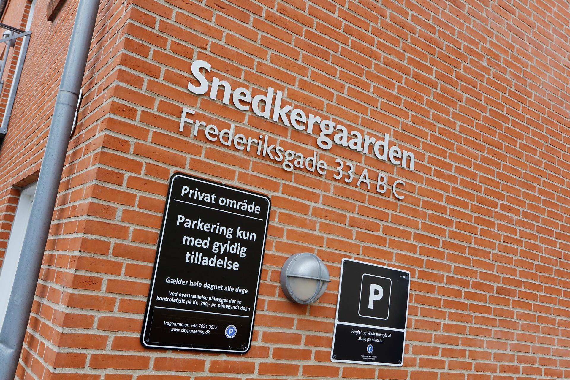 Boligudlejning på Frederiksgade i Horsens - Andet