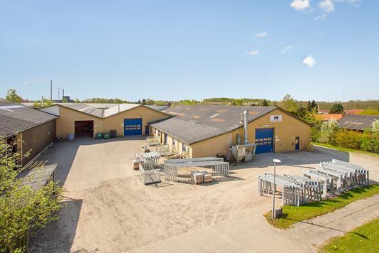 Produktion/lager på Mosetoften i Hedensted - Ejendommen