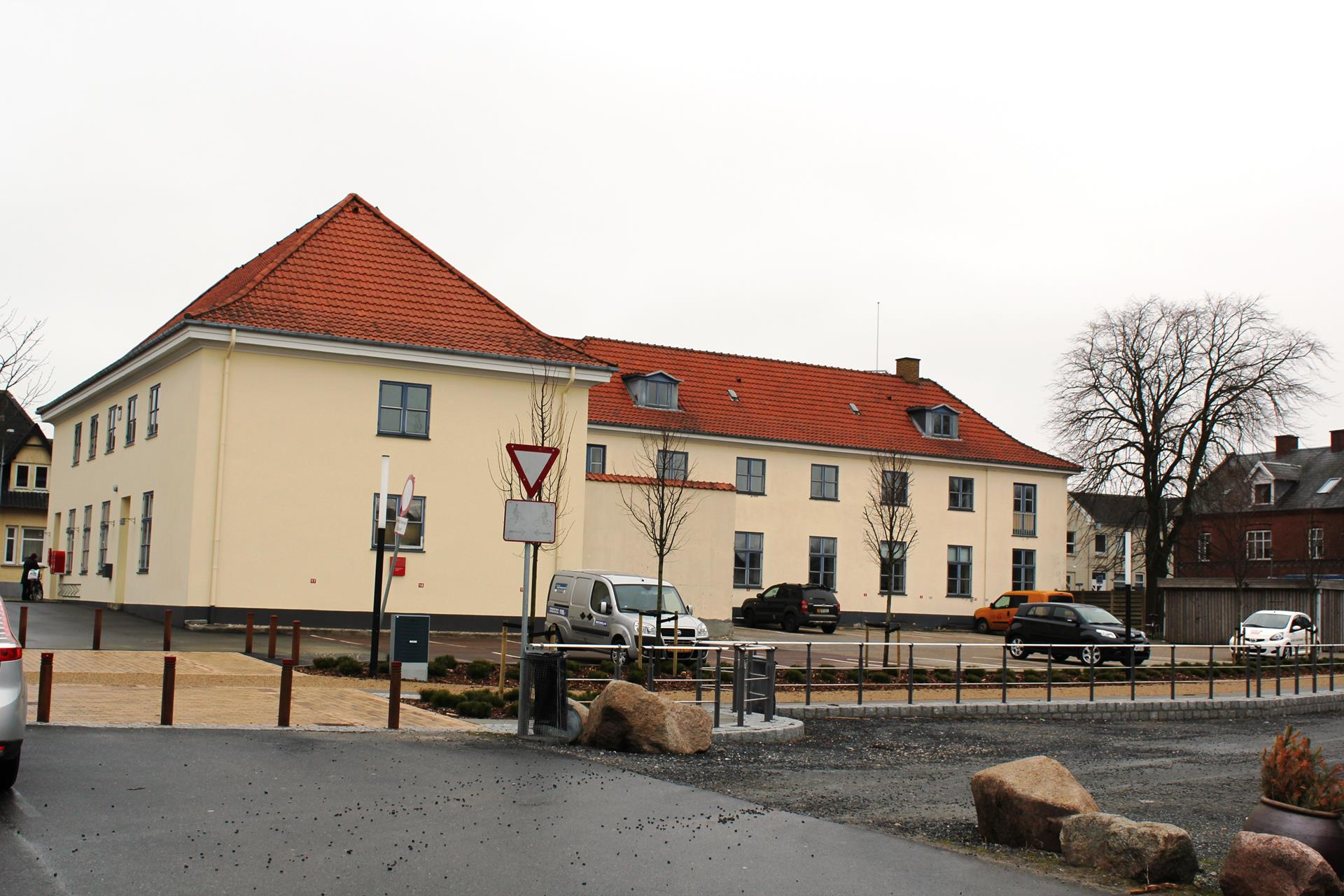 Bolig/erhverv på Jernbanegade i Brædstrup - Andet