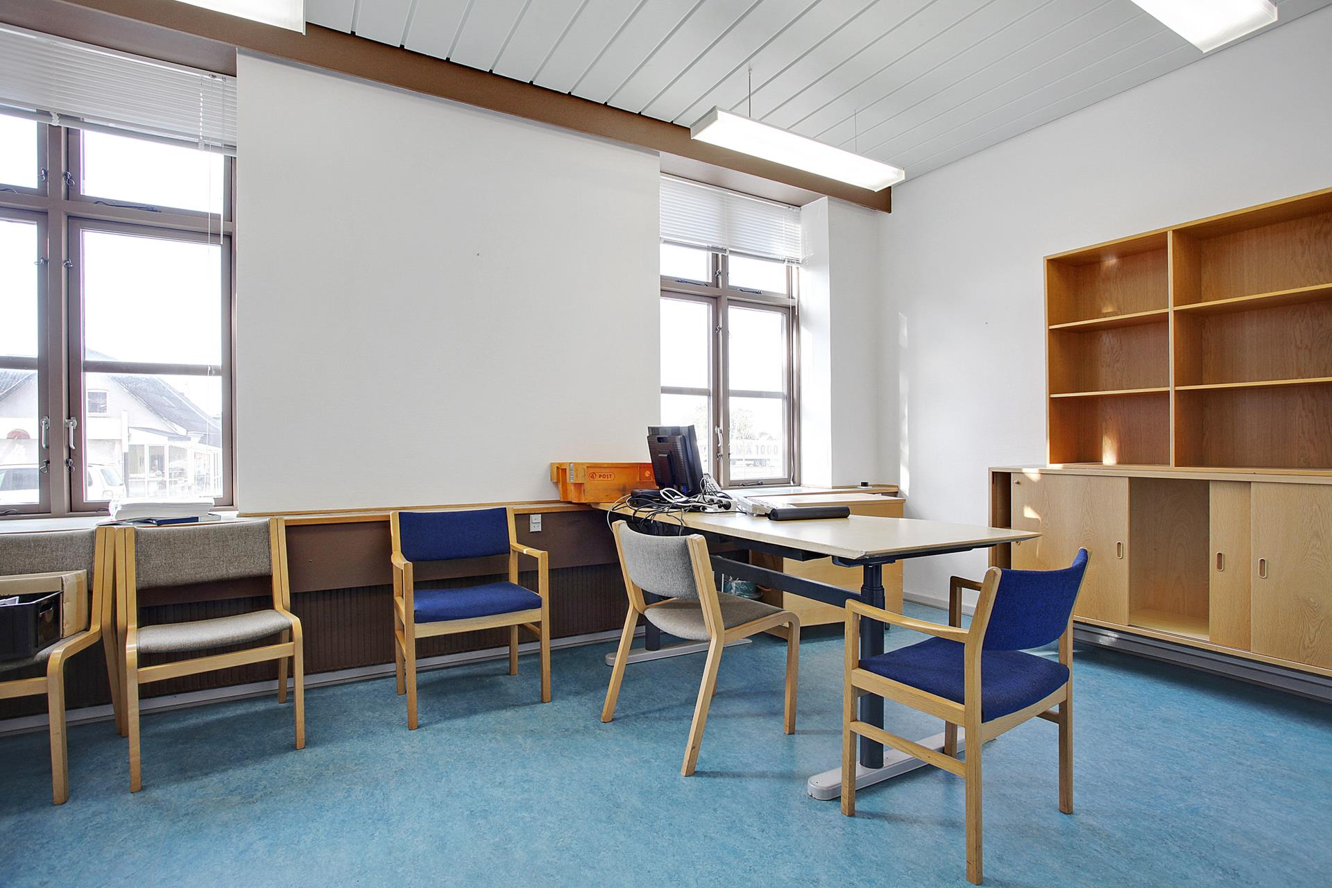 Bolig/erhverv på Jernbanegade i Brædstrup - Kontor