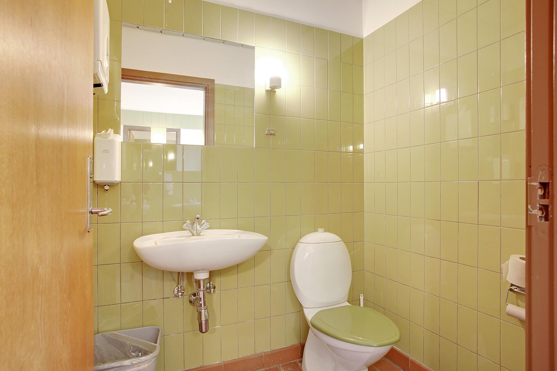 Bolig/erhverv på Jernbanegade i Brædstrup - Toilet