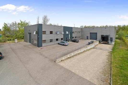 Produktion/lager på Lejrvej i Værløse - Ejendommen