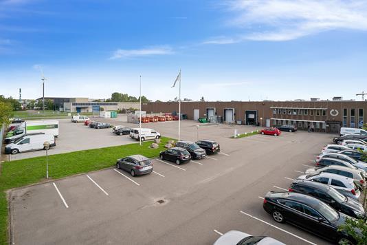 Produktion/lager på Avedøreholmen i Hvidovre - Ejendommen