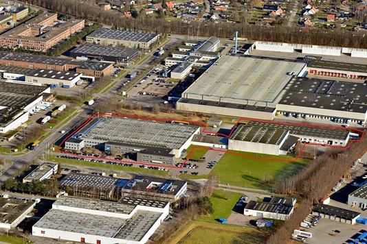 Produktion/lager på Kornmarksvej i Brøndby - Ejendommen