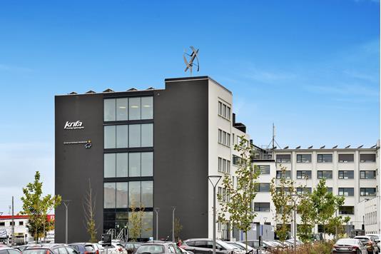 Kontor på Ellebjergvej i København SV - Ejendommen