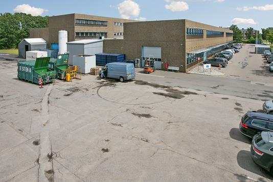 Produktion/lager på Industriparken i Ballerup - Ejendommen