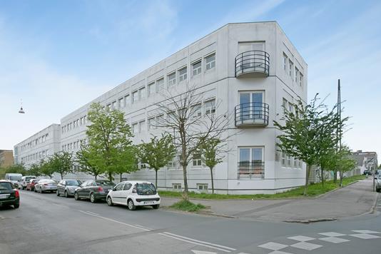Kontor på Møntmestervej i København NV - Facade