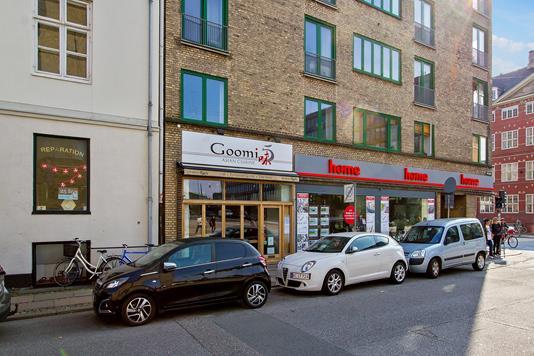 Bolig/erhverv på Strandgade i København K - Facade
