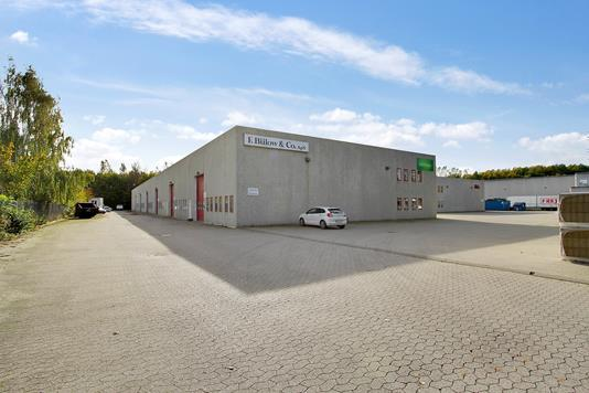 Produktion/lager på Baldersbuen i Hedehusene - Ejendommen