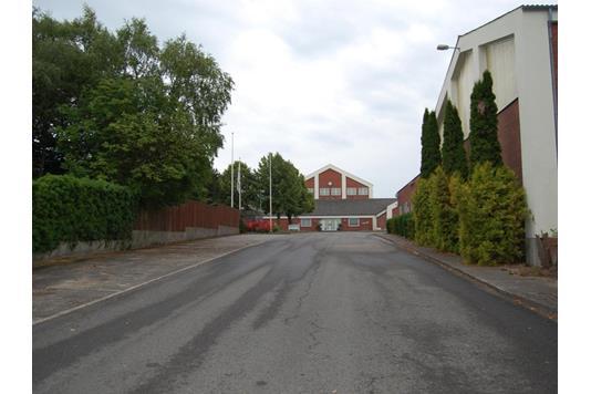 Produktion/lager på Hudevad Byvej i Årslev - Ejendommen
