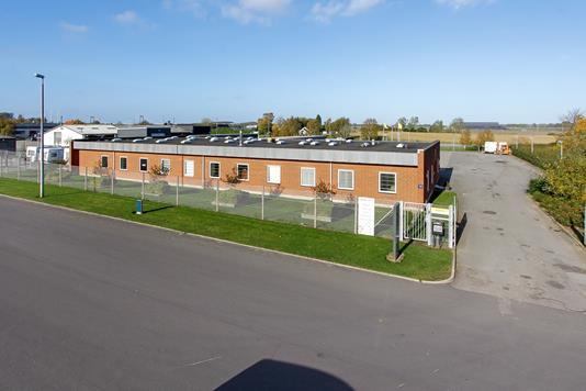 Kontor på Værkstedsvej i Middelfart - Mastefoto