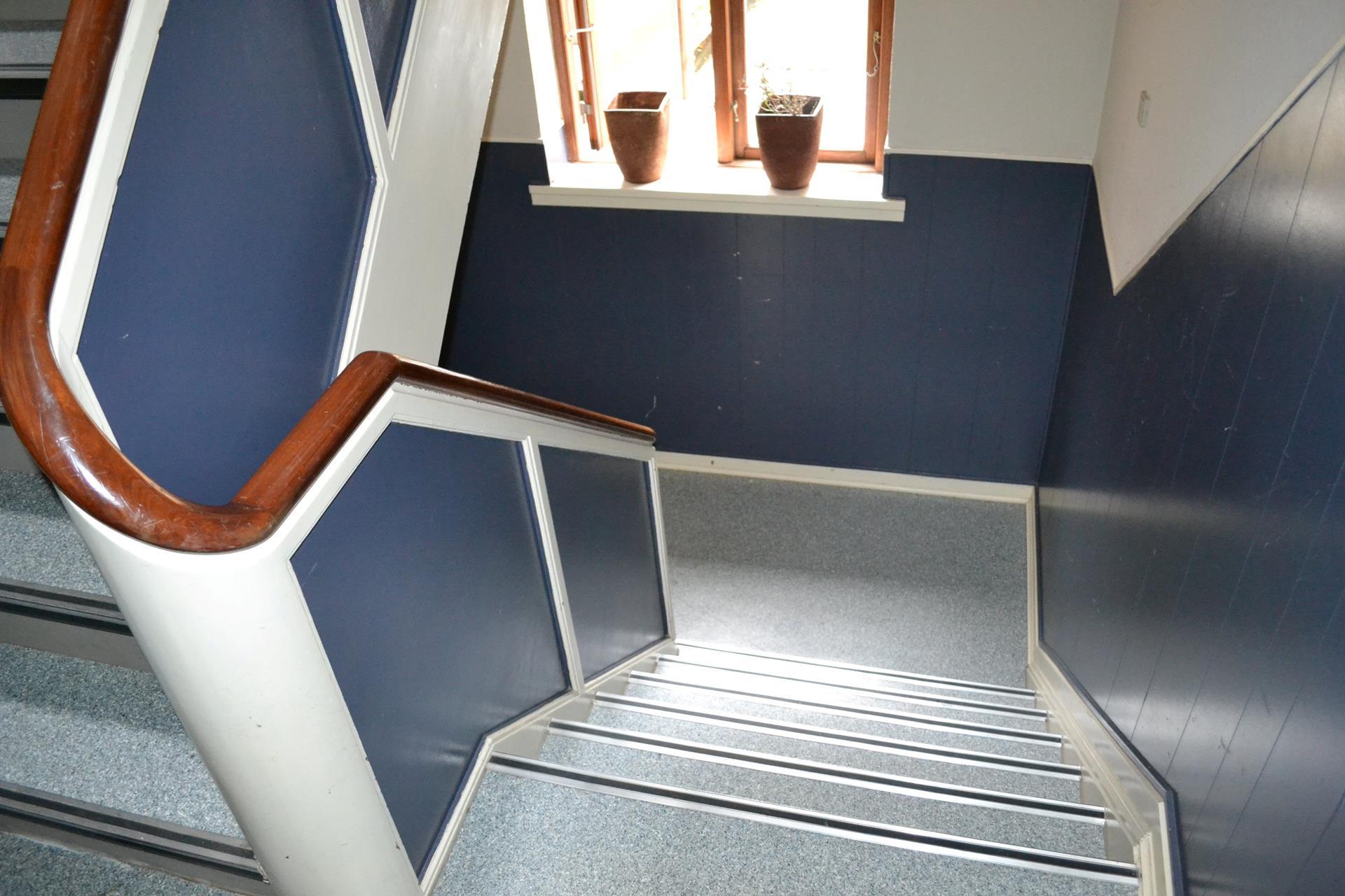 Boligudlejning på Østergade i Assens - Trappeopgang