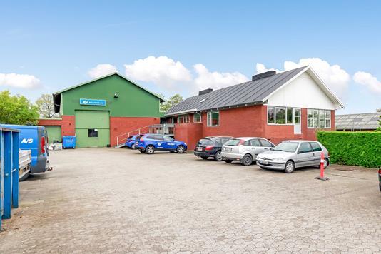 Produktion/lager på Byghøjvej i Odense SV - Ejendommen
