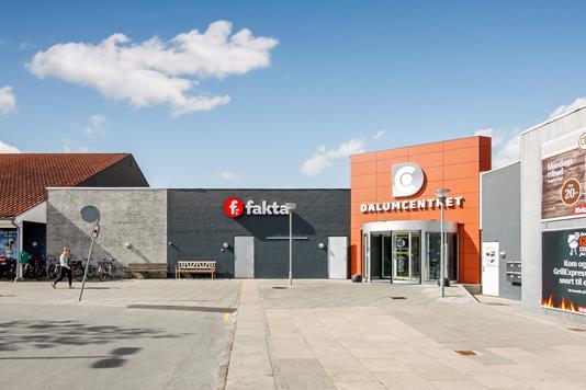 Detail på Dalumvej i Odense SV - Facade