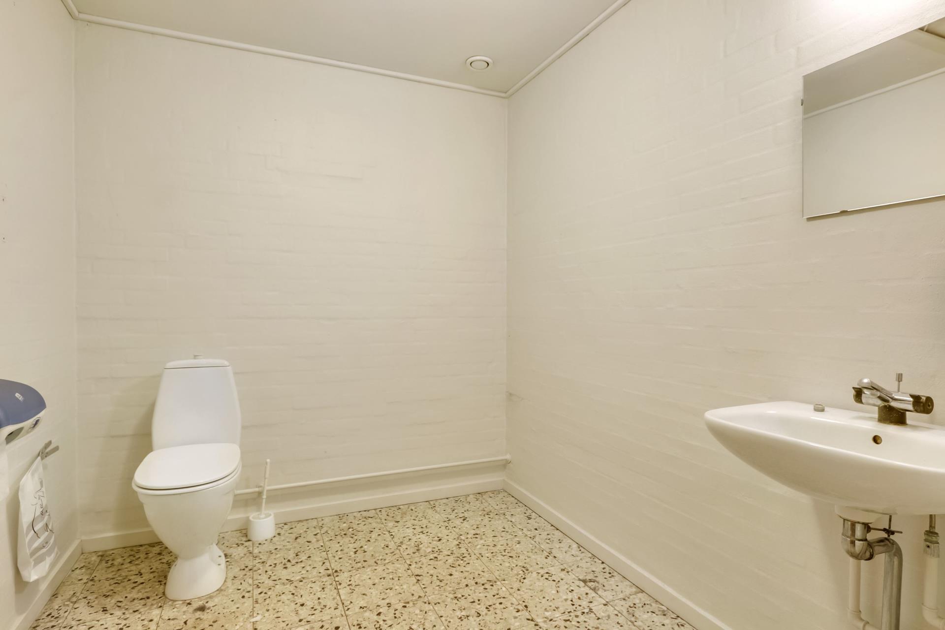 Detail på Klostervej i Odense C - Toilet