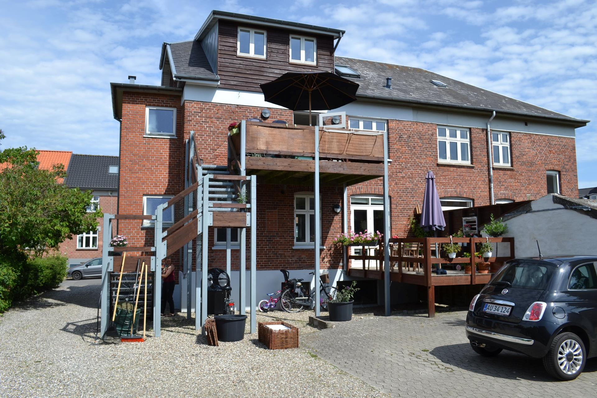 Boligudlejning på Thorkildsgade i Odense C - Facade