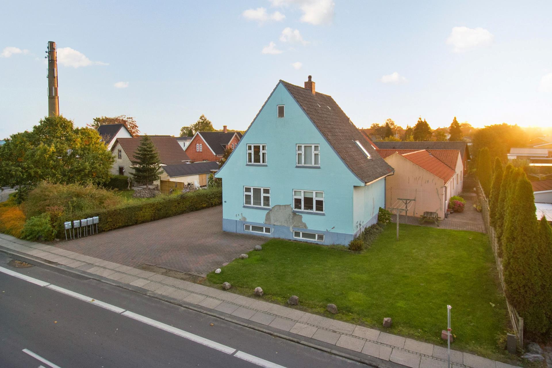 Boligudlejning på Røjrupvej i Langeskov - Ejendommen