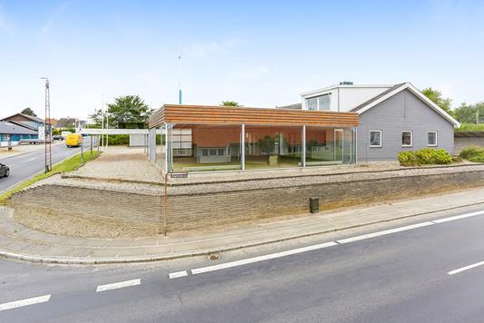 Produktion/lager på Bakkevej i Ringe - Facade