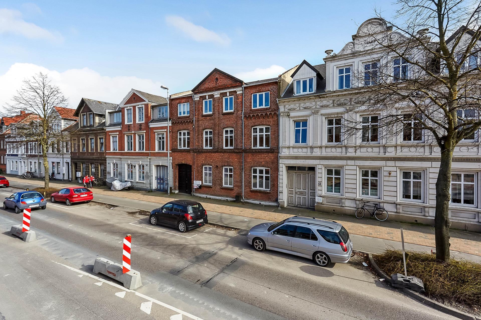 Boligudlejning på Vestre Stationsvej i Odense C - Mastefoto