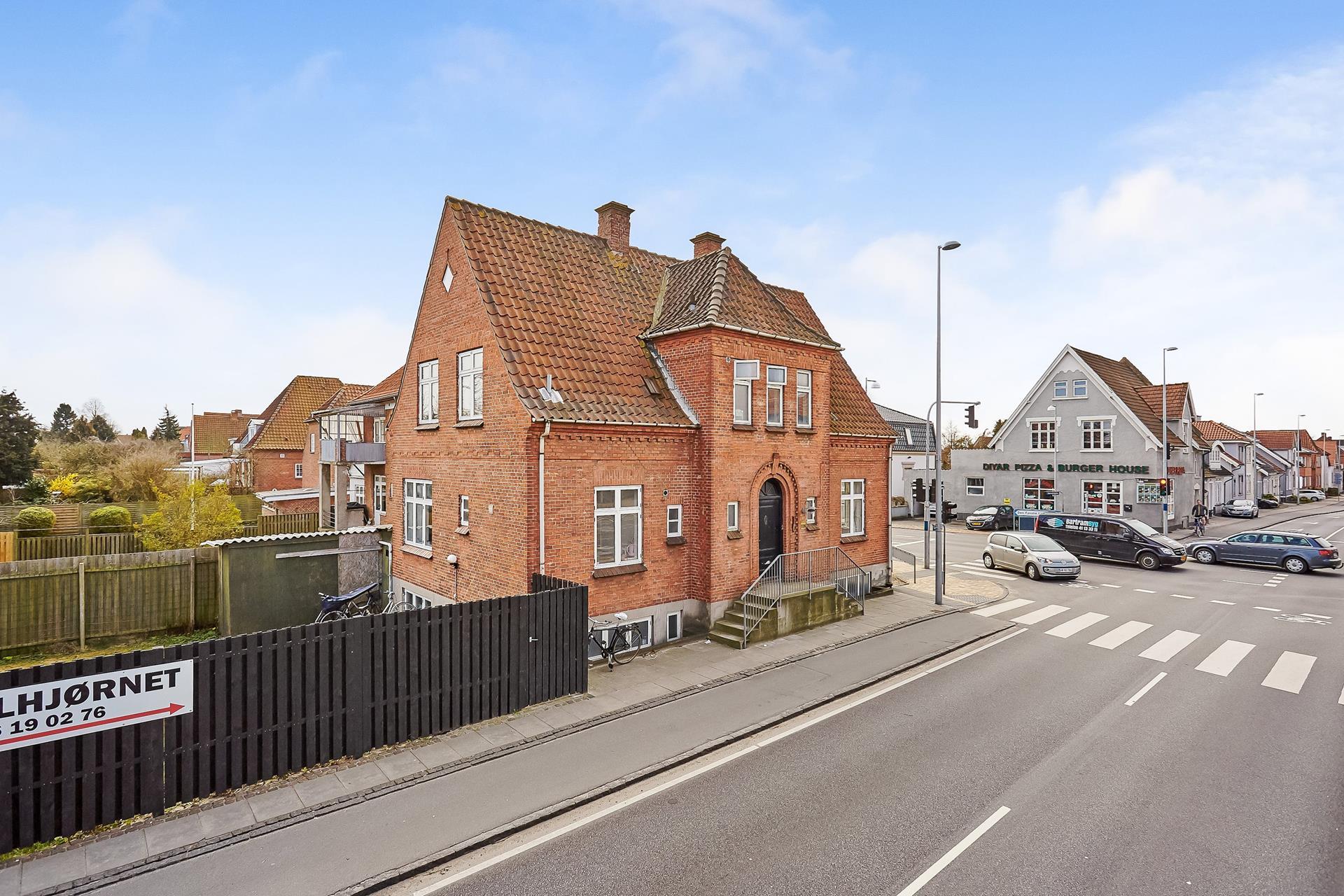 Boligudlejning på Læssøegade i Odense M - Mastefoto