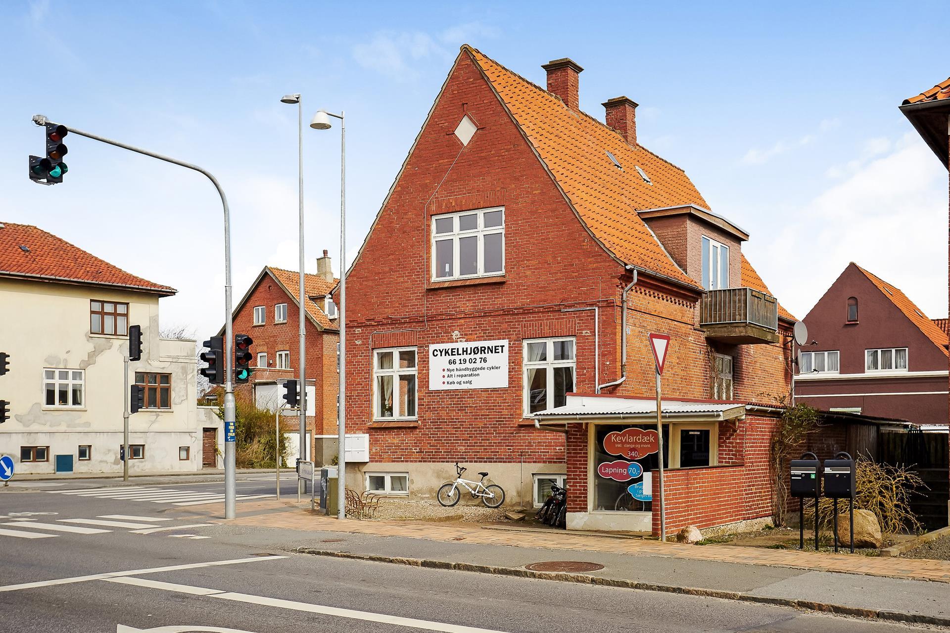 Boligudlejning på Læssøegade i Odense M - Ejendommen