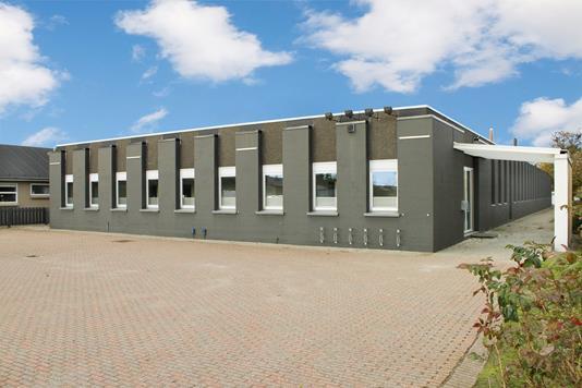 Produktion/lager på Stærmosegårdsvej i Odense M - Facade