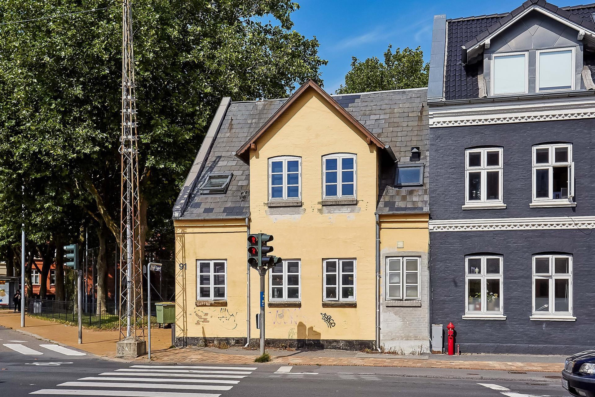 Boligudlejning på Vesterbro i Odense C - Ejendommen