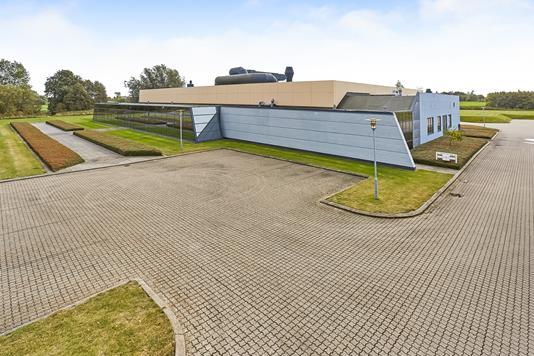 Produktion/lager på Sunekær i Søndersø - Mastefoto