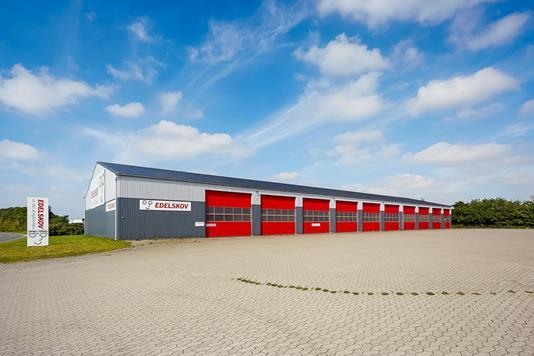 Produktion/lager på Kastanievej i Ringe - Ejendommen