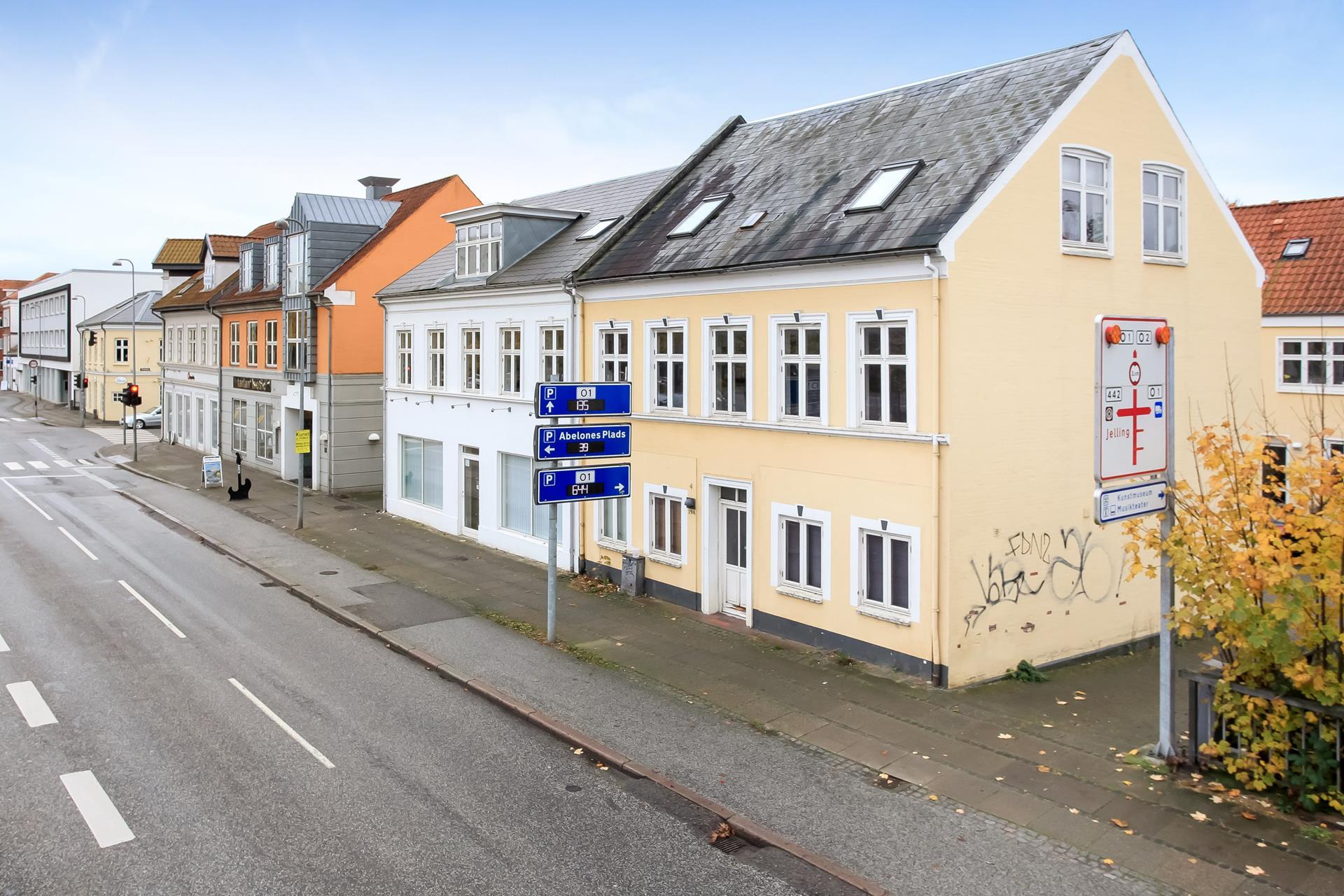 Boligudlejning på Vesterbrogade i Vejle - Facade