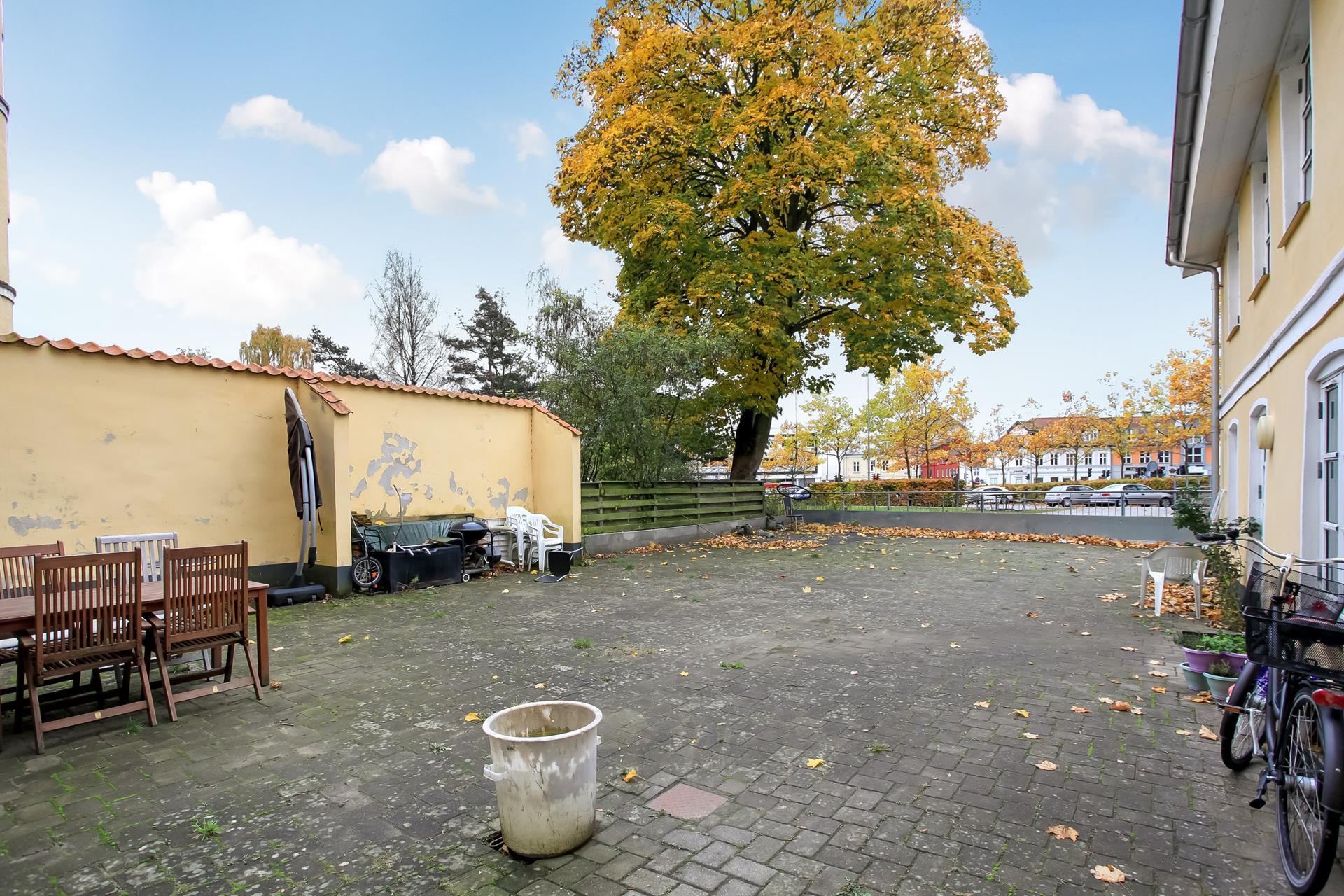 Boligudlejning på Gormsgade i Vejle - Gårdhave