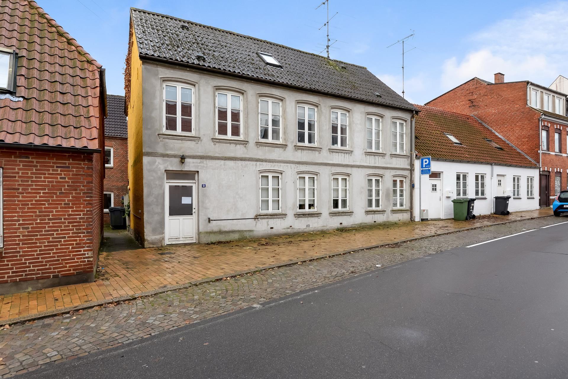 Boligudlejning på Slagtergade i Haderslev - Facade