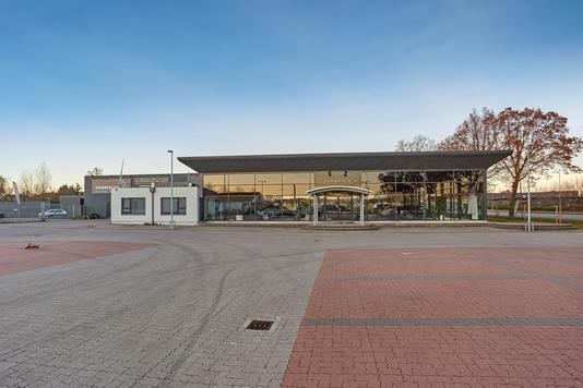 Detail på Thorslundsvej i Odense C - Facade
