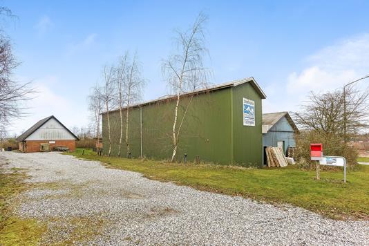 Produktion/lager på Stærmosevej i Haarby - Ejendommen