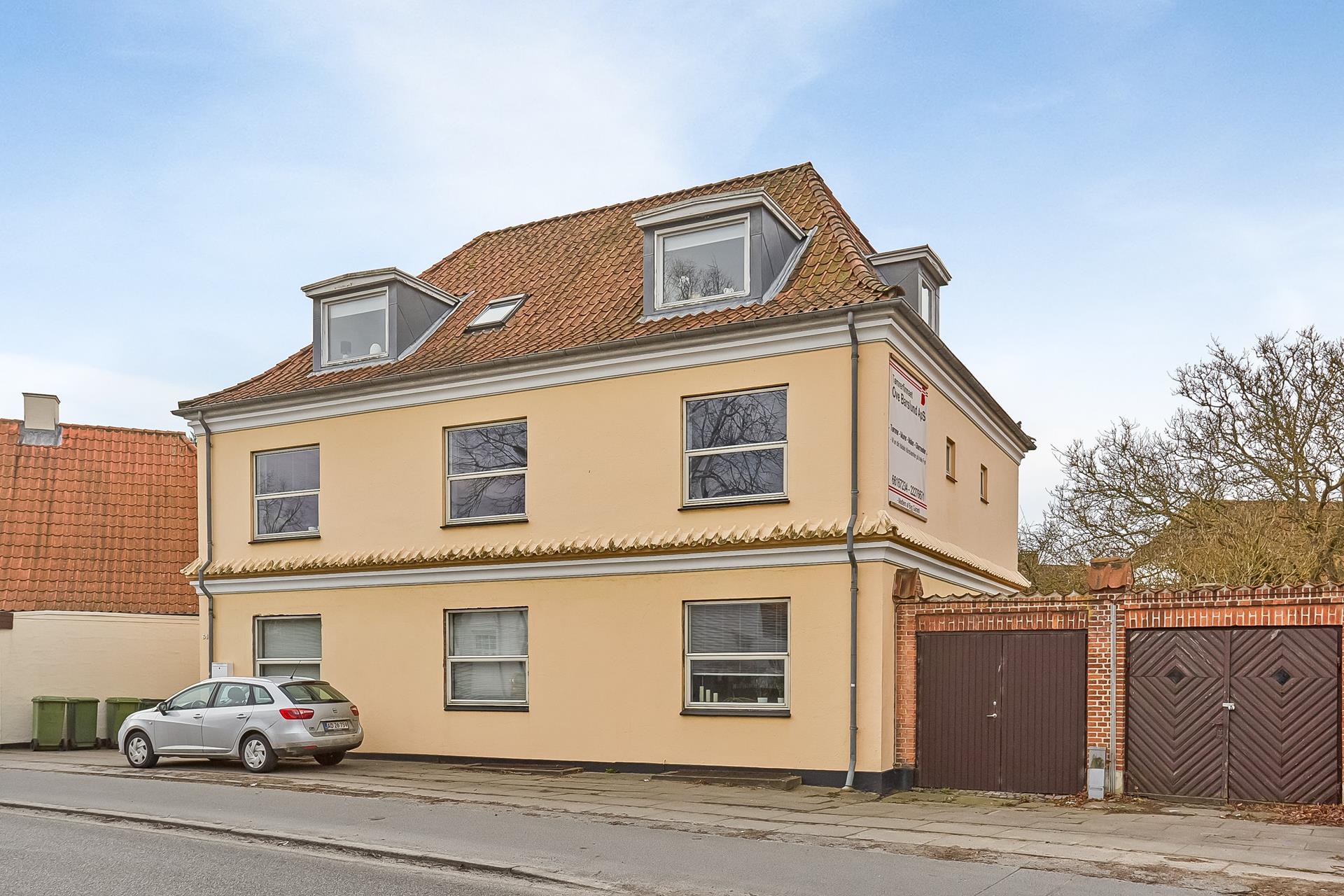 Boligudlejning på Rugårdsvej i Odense C - Ejendommen