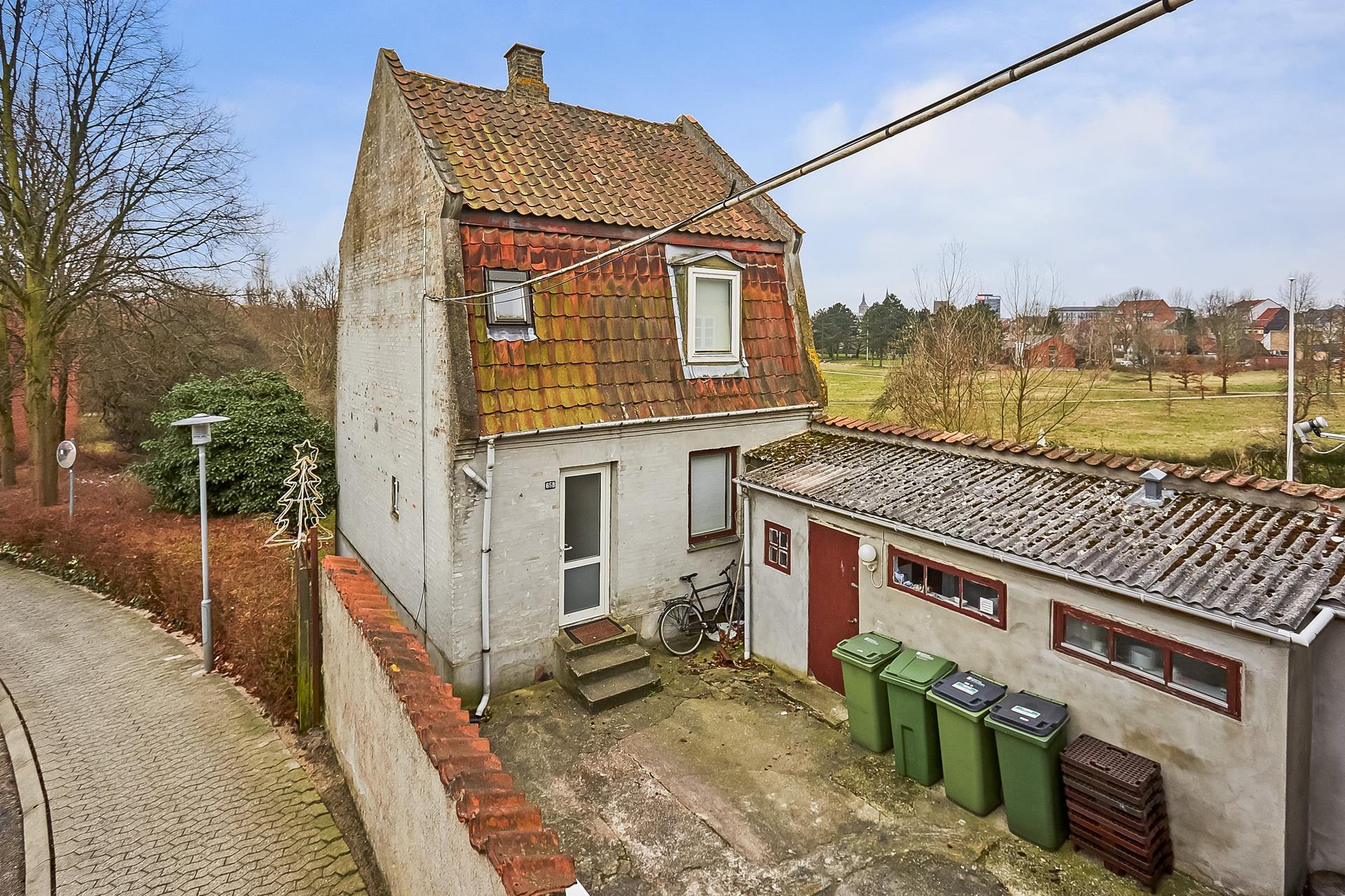 Boligudlejning på Skt. Jørgens Gade i Odense C - Mastefoto