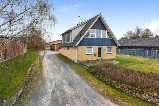 Produktion/lager på Glasvænget i Vissenbjerg - Facade