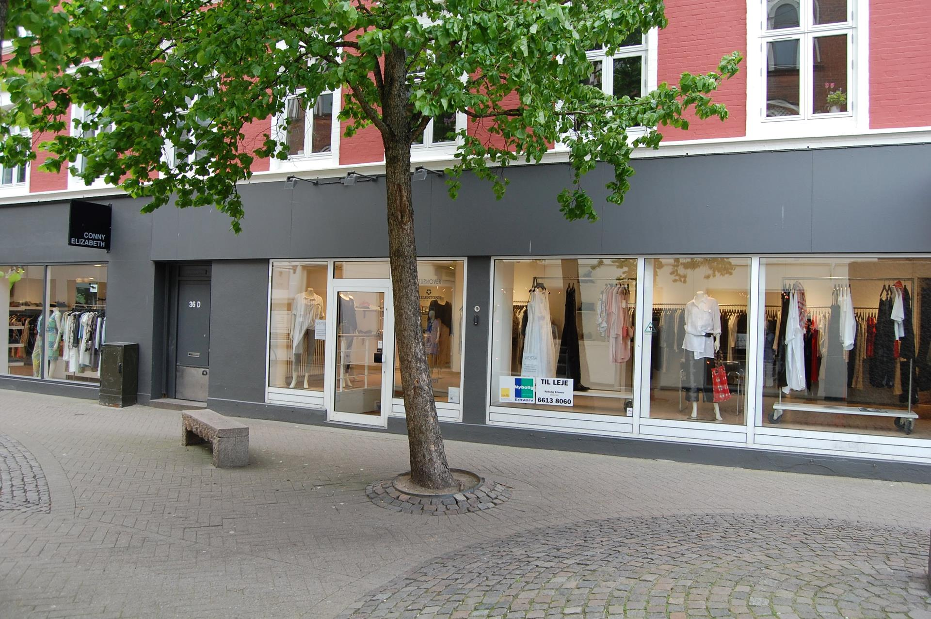 Detail på Kongensgade i Odense C - Facade